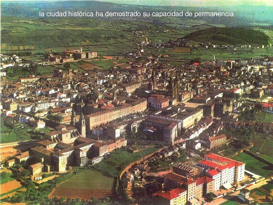 A actuación sobre os centros históricos